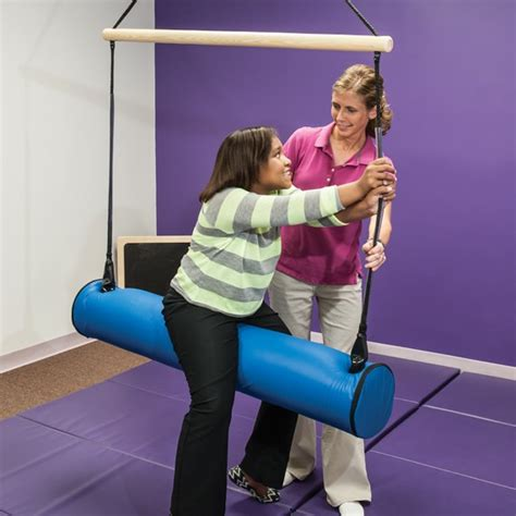 bolster swing advantage line bolster swing sensory integration southpaw