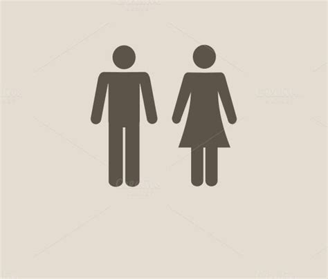 man woman bathroom symbol 28 best images about male and female bathroom signs on