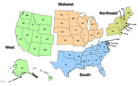 us map divided south east west nrevss rotavirus regional trends cdc