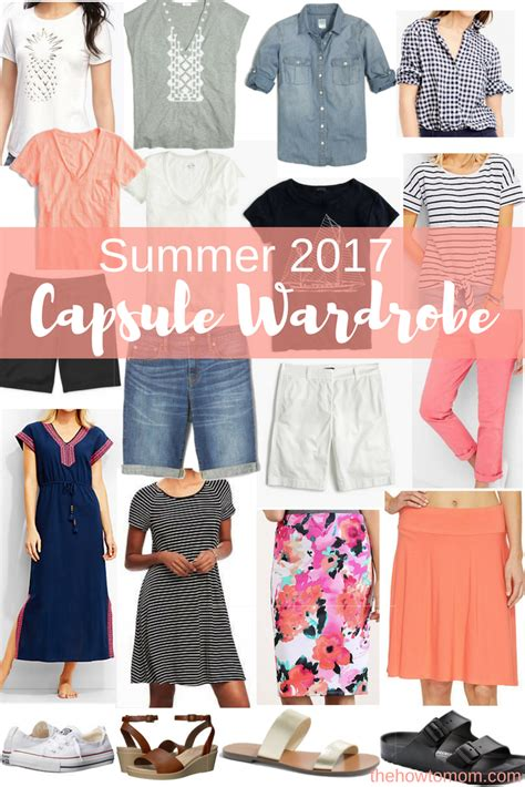 Summer Wardrobe For summer 2017 capsule wardrobe the how to