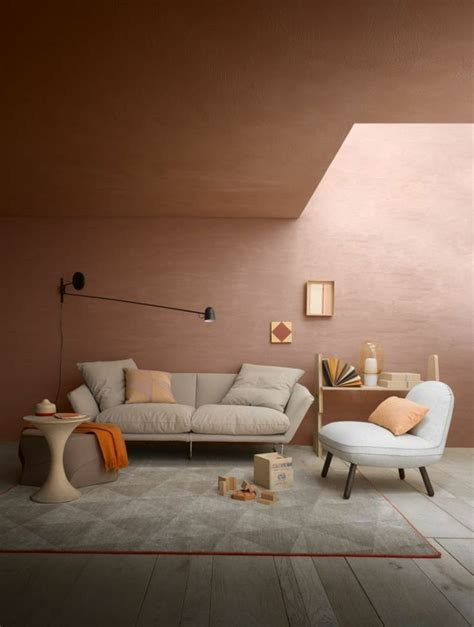 Wandfarbe Braun Kombinieren by Die Besten 17 Ideen Zu Wandfarbe Braun Auf