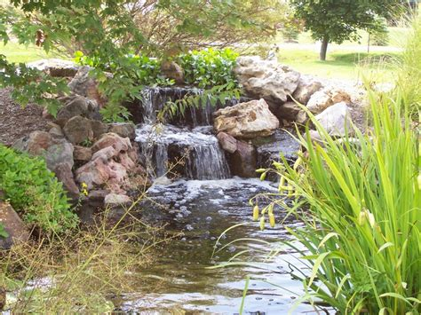 Small Backyard Waterfalls by 63 Relaxing Garden And Backyard Waterfalls Digsdigs