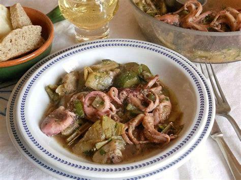 cucinare con le verdure zuppa di polipetti con verdure cucinare it