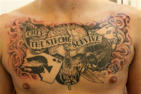 only the strong survive tattoo design only the strong survive by pisopez on deviantart