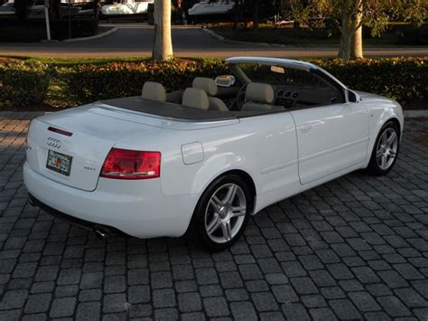 2008 audi a4 convertible 2008 audi a4 2 0t convertible fort myers florida for sale