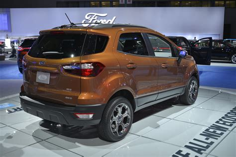 New Ford 2018 Ecosport by 2018 Ford Ecosport Looks As In Los Angeles