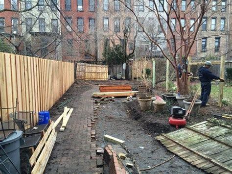 creating  garden oasis   city   york times