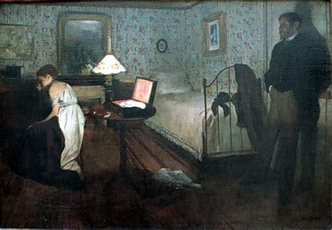 Degas Interior by Edgar Degas Paintings