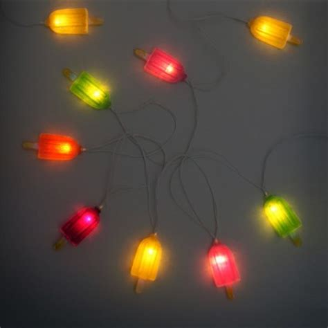 Ice Lolly Party String Lights Summer String Lights