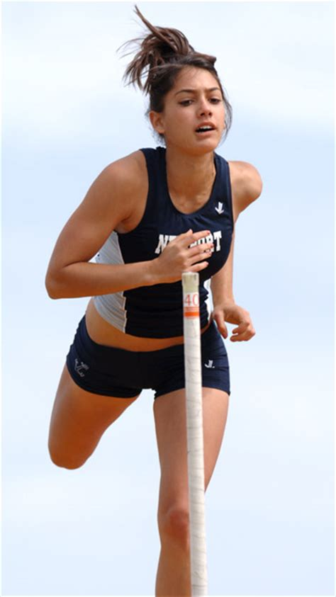 Accidentally Turns Pole Vaulter Allison Stoke Into Icon by Dyestatcal Home Of California Track