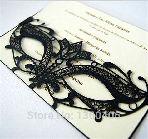 card mask templates for sale factory direct sale 2017 invitation cards
