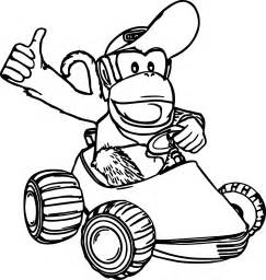Diddy Kong Coloring Pages diddy kong coloring pages wecoloringpage