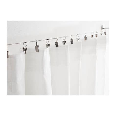 gardinenhaken fur seilsysteme 24 x gardinenhaken ikea riktig seilsystem haken vorhang