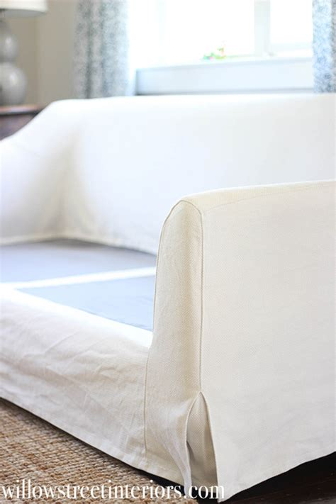 white slipcovered sofa ikea ikea farlov slipcovered sofa review and washing tips