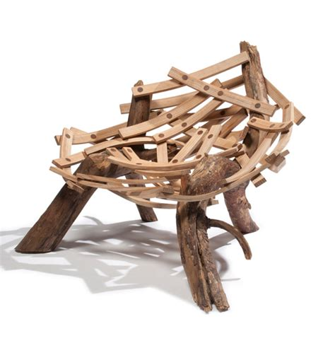 bc concepts wave inspired by a birds nest the eyrie chair is