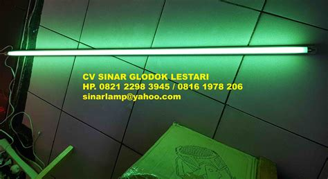 Lu Light Aneka Warna lu tl warna hijau 28 watt