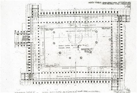 mosque floor plan istiqlal mosque b w drawing floor plan archnet