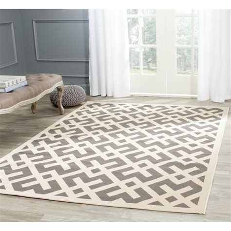 Gray Outdoor Rug Safavieh Courtyard Gray Bone Indoor Outdoor Area Rug Reviews Wayfair