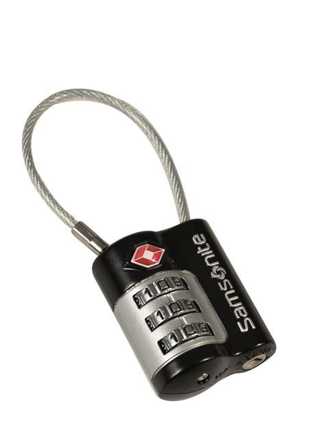 cadenas valise tumi cadenas samsonite accessoires black en vente au meilleur prix