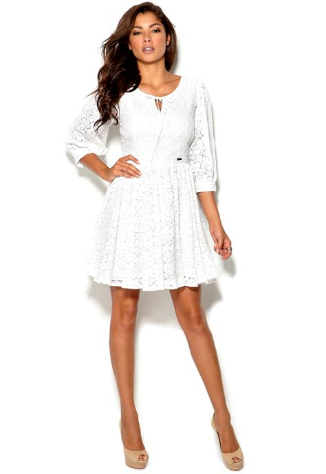Dress Flavia rich flavia dress white bubbleroom