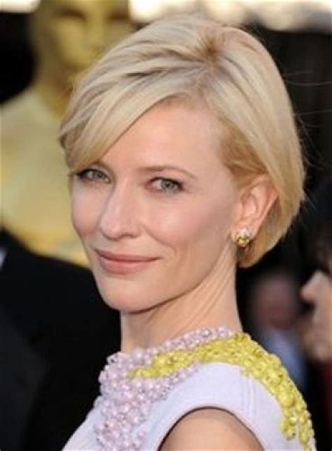 Get The Look Cate Blanchetts Feathered Tresses 2 by 9 Cutest Cate Blanchett Hairstyles Hair Color
