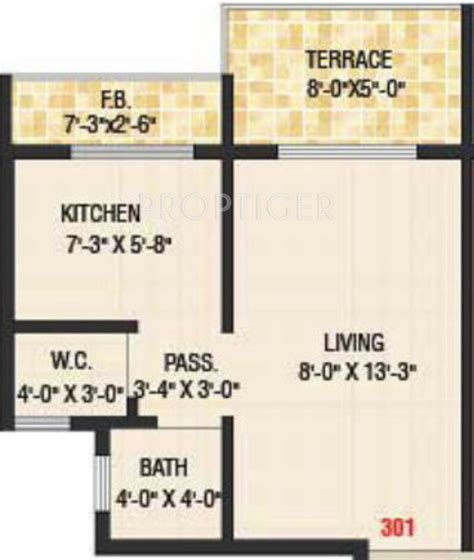 350 sq ft 350 sq ft 1 bhk 1t apartment for sale in dolphin sunflower