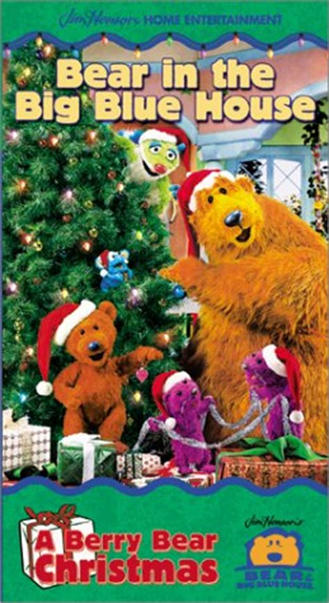 bear inthe big blue house a berry bear christmas bear in the big blue house a berry bear christmas vhs vhs