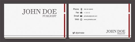 business card presentation template business card templates