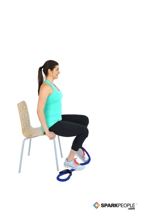 seated band exercises 41 best images about fitness on beginner