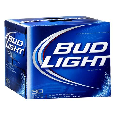 18 pack of bud light upc 492130301827 bud light beer cans 12 oz 30 pk