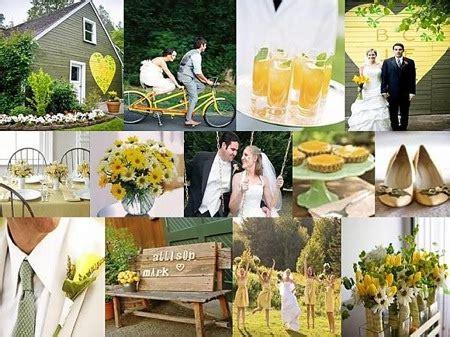 lemon lime wedding theme yellow wedding invitations