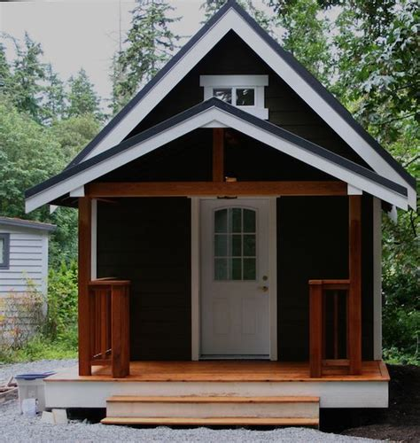 tiny house plans with porches mulfinger tiny house pictures and video tour