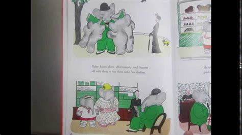 babar all stories the 8416290032 the story of babar the little elephant read aloud youtube
