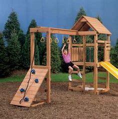 menards wooden swing sets 1000 images about swingset add ons on pinterest swing