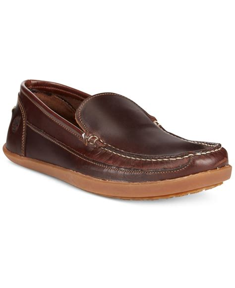 timberland loafers timberland s odelay venetian loafers in brown for