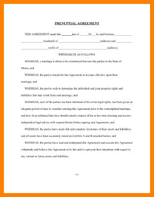 Print Cover Letter On Resume Paper 10 Free Printable Prenuptial Agreement Form Ledger Paper