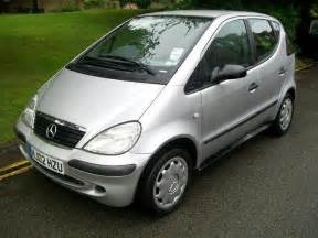 used mercedes 2002 silver paint petrol class a140