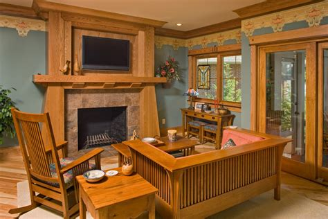 Craftsman Style Living Room Furniture Everything You Need To About Craftsman Homes