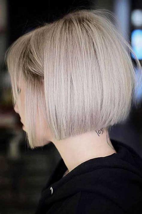 trend short haircuts  fine hair short hair models