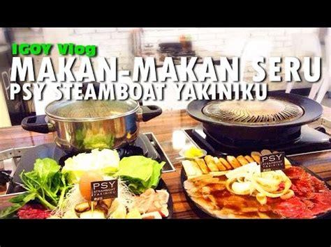 steamboat di bandung kuliner bandung psy steamboat yakiniku shabu shabu youtube