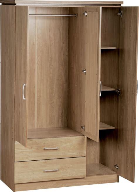 Open Wardrobe Door Wardrobe Aalen 3 Door Wardrobe