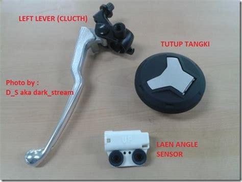 Alarm Motor R25 pritilan part yamaha r25 dari tutup tangki rata tuas kopling lean angle sensor dan