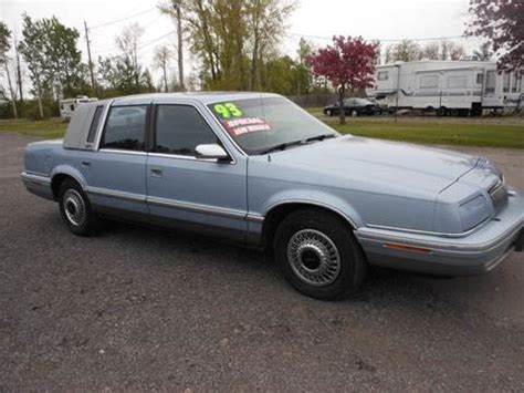 1993 chrysler new yorker for sale 30 used cars from 840 1993 chrysler new yorker for sale kansas carsforsale com