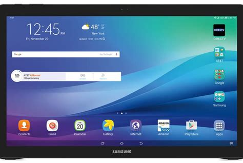 Tablet Samsung Galaxy View galaxy view tablet available via att and best buy