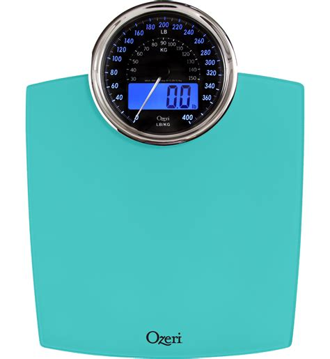 kmart bathroom scales ozeri rev digital bathroom scale with electro mechanical