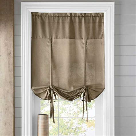 Tie Up Window Curtains Room With A View Give Your Window Coverings A Makeover