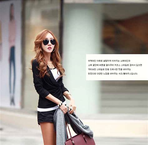 Kaos Lengan Panjang Impor Korea kaos korea model lengan panjang simple 2016 model