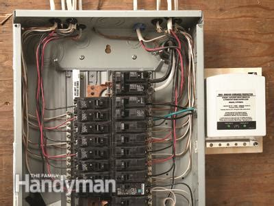 add a whole house surge protector diy advice