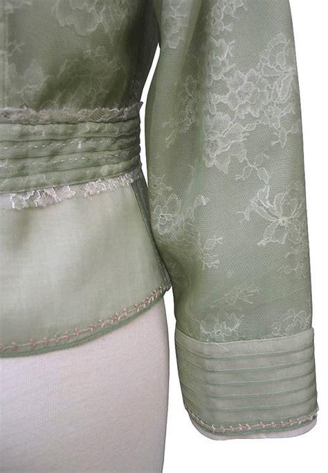 Jny Co Sweater Banana Sweet Opika elie tahari lichen green lace silk organza peplum santina