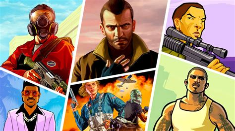 Grand Theft Auto the evolution of grand theft auto milestones from every
